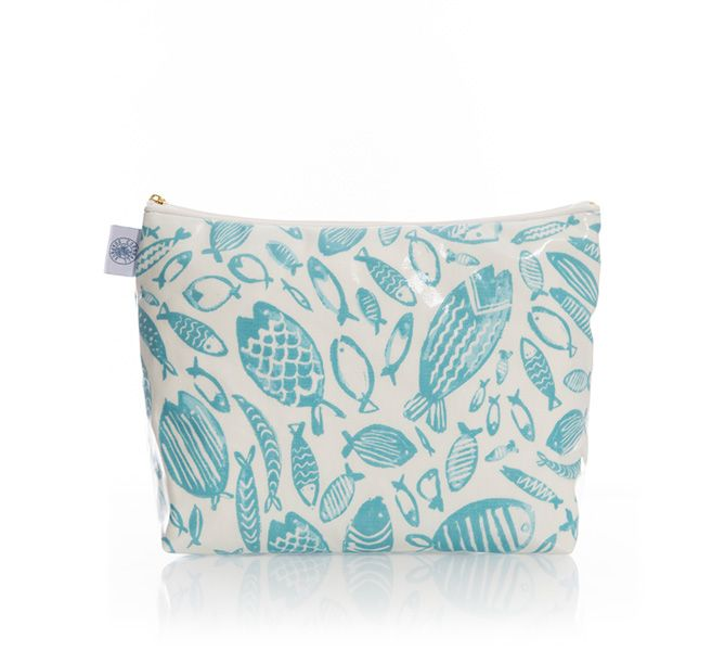 Large Wash Bag (Fish)