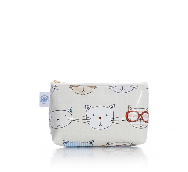 Small Wash Bag (Cool Cats)