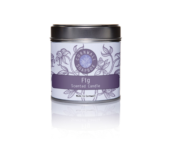 Fig Scented Candle | Cornwall SoapBox