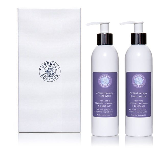 Box of Two Organic Shower Products