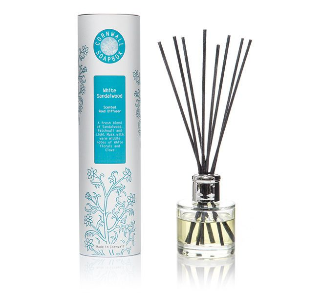 White Sandalwood Scented Reed Diffuser